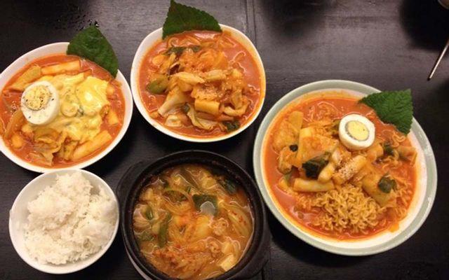 Topokki - Món Hàn - Đinh Tiên Hoàng