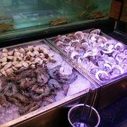 Quầy hải sản