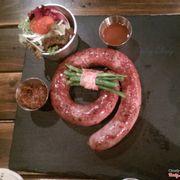 Garlic & Chilli Pork sausage 250k+