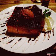 bánh toast chocolate