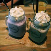 Chocolate mint + berberry
