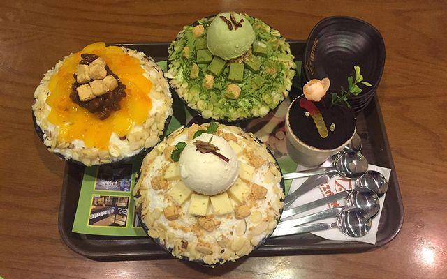 IZZIBING Snow Dessert Coffee - Bingsu