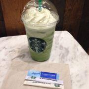 Green tea cream frapp - 105K