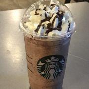 chocolate cream frappuccino