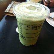 green tea iced blended