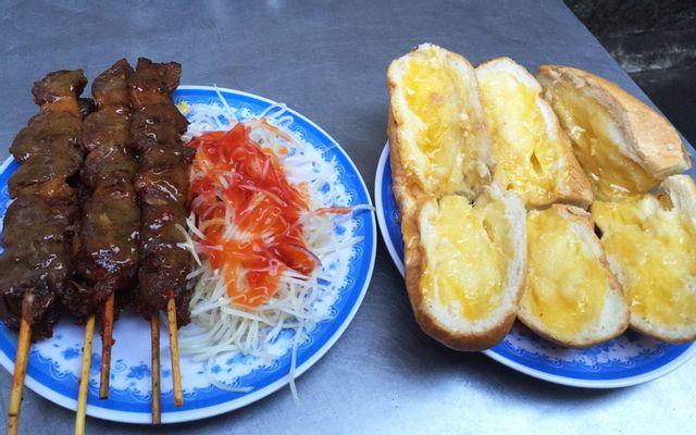 A Tùng - Bánh Mì Bò Nướng Bơ Cambodia - Cống Quỳnh