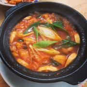 Canh kimchi thịt bò