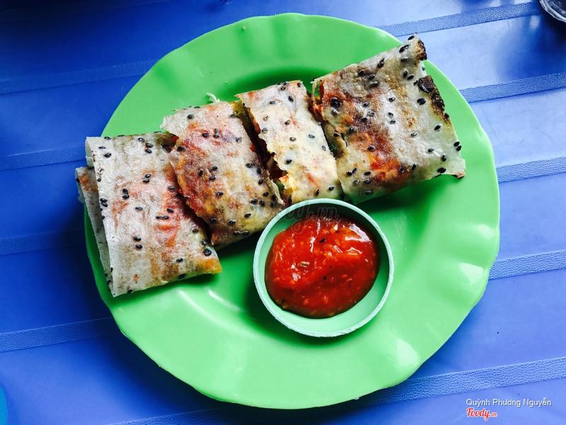 Bánh trắng nướng thập cẩm