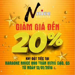 Chương trình khuyến mãi hấp dẫn tại Nnice Karaoke - Trần Hưng Đạo