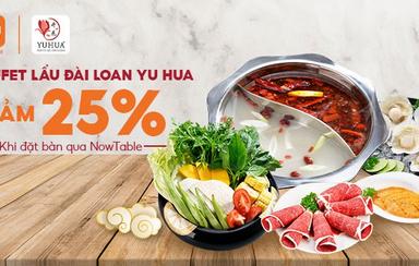 Yu Hua - Buffet Lẩu Đài Loan