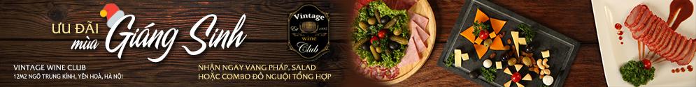 Vintage Wine Club - Rượu Vang & Ẩm Thực Âu