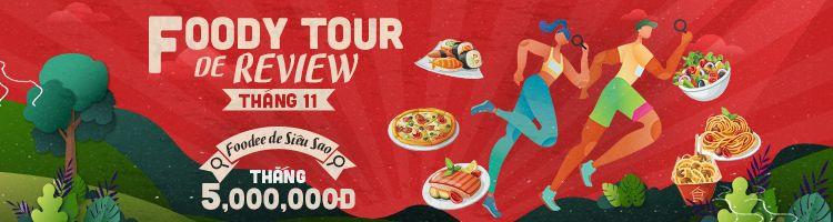 Food Tour De Review - Finding Foodee De Siêu Sao - Lấy ngay 5 TRIỆU