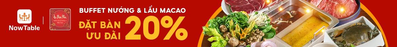 ĂN ĐƯỢC PHÚC - ƯU ĐÃI ĐẾN 20%