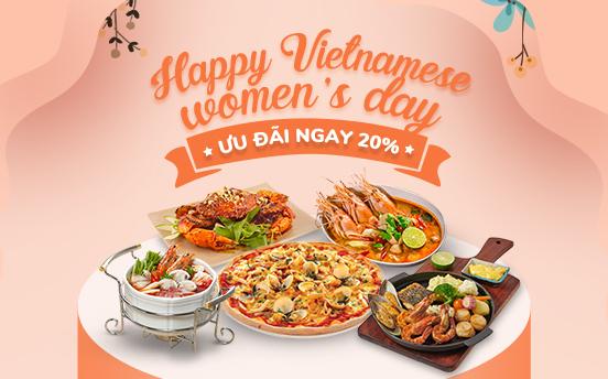 HAPPY VIETNAMESE WOMEN'S DAY