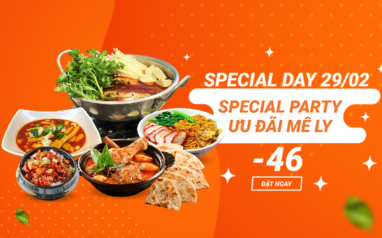 29/02 SPECIAL DAY - SPECIAL PARTY
