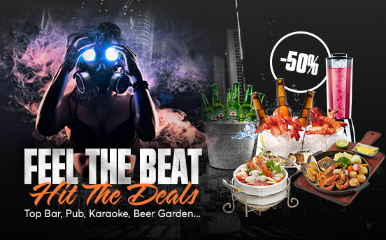 FEEL THE BEAT - HIT THE DEALS