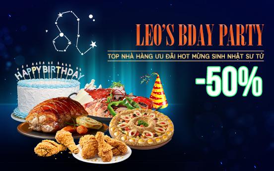 [HN] LEO's BDAY PARTY - MỪNG SINH NHẬT CUNG SƯ TỬ