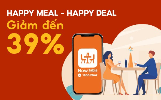 HAPPY MEAL - HAPPY DEAL