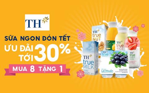 TH True Mart - Sữa Từ Thiên Nhiên