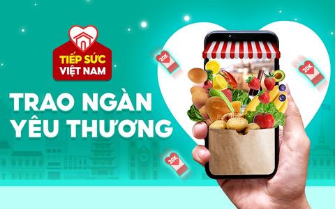 Tiếp sức Việt Nam - Trao ngàn yêu thương