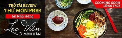 Thưởng thức và review các món ăn Hàn Quốc