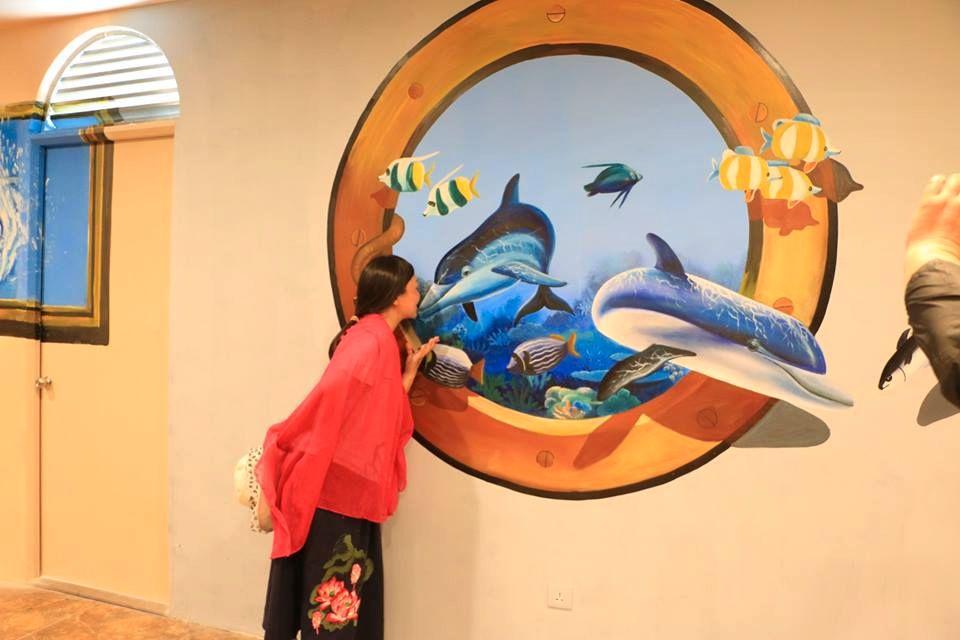 Quẫy tanh bành với nhà tranh 3D mới toanh ở Nha Trang | Bài viết | Foody.vn