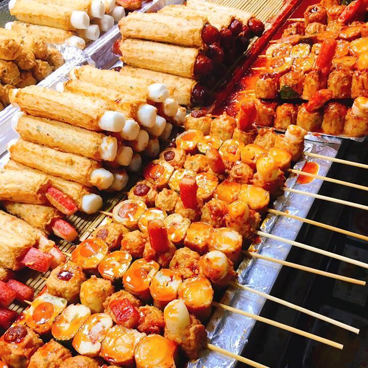 Kết quả hình ảnh cho đồ ăn chợ myeongdong hàn quốc