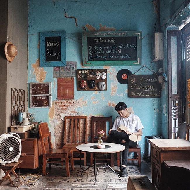 Kết quả hình ảnh cho quán cafe phong cách vintage