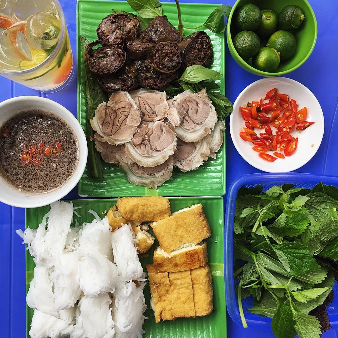 bún đậu Trung Hương-bún đậu ngõ Phất Lộc