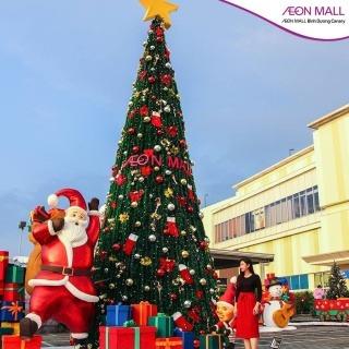 NGÔI LÀNG ÔNG GIÀ NOEL siêu đáng yêu cho mùa Giáng Sinh tại Bình Dương
