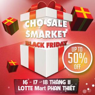 """""""Thứ 6 đen tối""""- ƯU ĐÃI ĐẾN 50% với phiên chợ SMARKET tại Phan Thiết"""