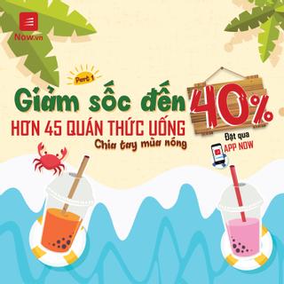 Đặt ngay kẻo lỡ deal trà sữa hot giảm đến 40% cuối tuần - Part 1