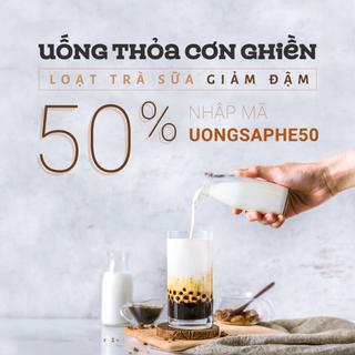 Uống Sập Hè Hè hơn 30 quán GIẢM TẸT GA 50%