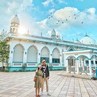 (AG) Mê đắm kiến trúc độc đáo của Thánh Đường Hồi Giáo tại An Giang