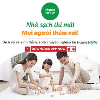 [HomeNOW] Vệ sinh công nghiệp cho nhà sạch thì mát, mọi người thêm vui