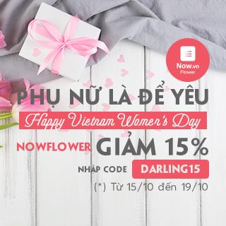 HAPPY VIETNAM WOMEN'S DAY: PHỤ NỮ LÀ ĐỂ YÊU