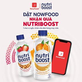 NowFood | Đặt NowFood liền tay, nhận ngay quà Nutriboost