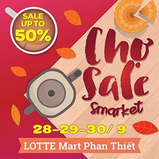 [PT] Shopping hạ giá hấp dẫn tới 50% với phiên chợ SMARKET tại Phan Thiết