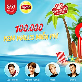 Đóng băng giữa Sài Gòn với 100,000 kem Wall's tại WALL'S – LIPTON SUMMER PARTY