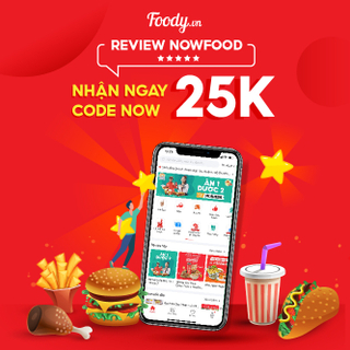Review NowFood Nhận Code Now 25K