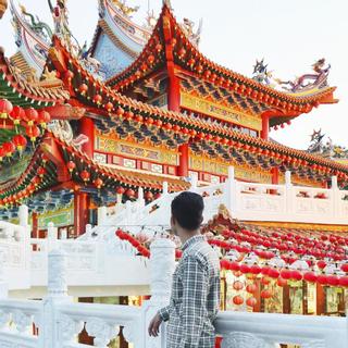 Đẹp Rực Rỡ ngôi chùa THỜ BÀ THIÊN HẬU lớn nhất Đông Nam Á