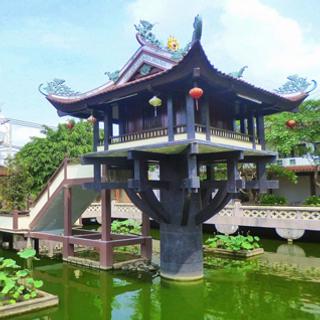 Linh thiêng 4 Ngôi chùa độc đáo ngay SG trong mùa lễ Phật Đản