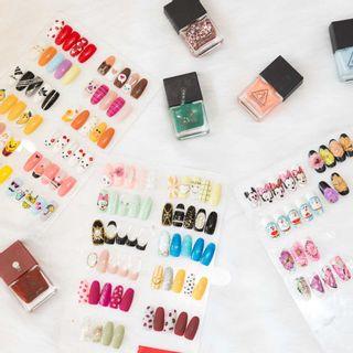 """[ĐN] Hội """"bánh bèo"""" thích mê tiệm nails nghệ thuật chuẩn Hàn tha hồ làm điệu"""