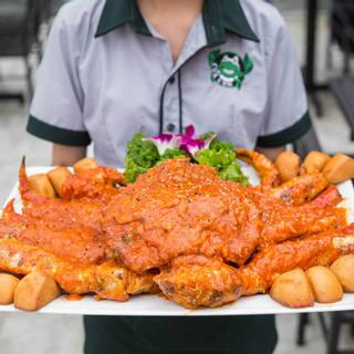 """[ĐN] """"Say hương vị biển"""" tại nhà hàng Cua Cớm rộng thênh thang vô vàn món hot"""