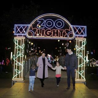 Lạc vào xứ sở ánh sáng Holiday Lights ĐÓN GIÁNG SINH ĐỘC LẠ giữa Thủ đô