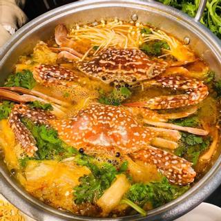 Lẩu ghẹ kim chi – Cực phẩm cho ngày lạnh Đà Lạt!