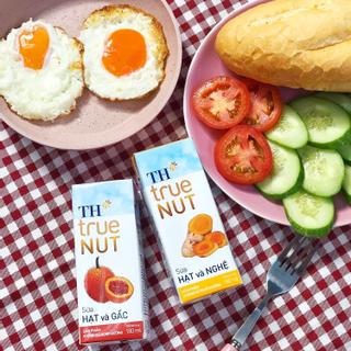 Có gì trong ly sữa hạt TH true NUT – bộ sản phẩm hạt cao cấp của gia đình TH?