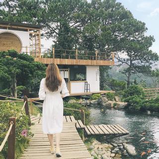 """Nhắm mắt thấy mùa hè tại """"KHU VƯỜN NHẬT BẢN THU NHỎ"""" ở Đà Lạt"""
