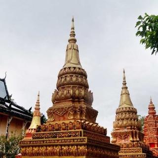 (CT) Choáng ngợp với ngôi chùa có kiến trúc như ANGKOR WAT ở Miền Tây