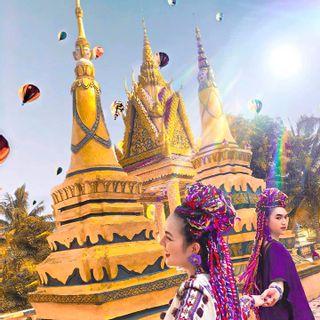 Khó tin có thật những ngôi chùa Cam đẹp ảo diệu không xa SG